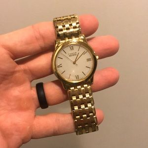 CITIZEN Gold Men's Vintage Watch *Very Thin*